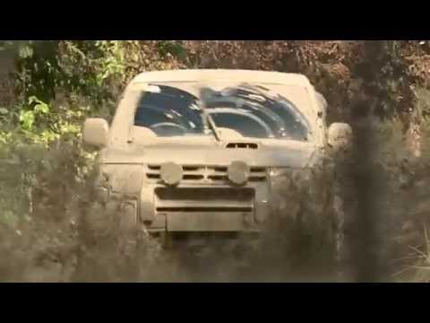 Mitsubishi Pajero Sport - Heart In Mouth Off Road Driving