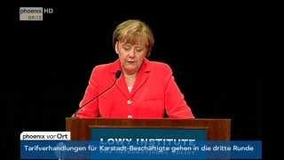 Angela Merkel Bei G20: Kritik An Russland, Freihandelsabkommen U.a. Am 17.11.2014