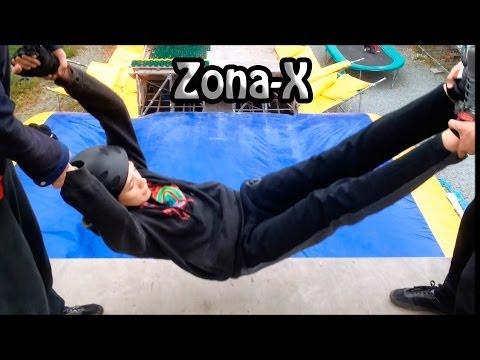 На Zona-X с Друзьями (Владивосток) Прыжки, Угар!:)