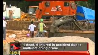 Chennai: Two arrested in metro rail accident case - NewsX