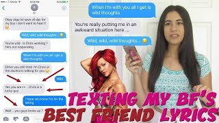 "Download Lagu TEXTING MY BOYFRIEND'S BEST FRIEND ""WILD THOUGHTS"" RIHANNA x DJ KHALED LYRICS 