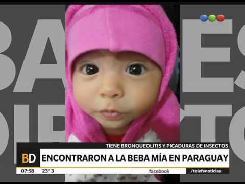 Encontraron a Mía en Paraguay – Telefe Noticias