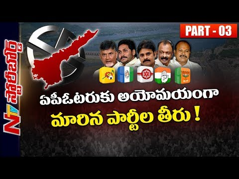 Current Political Scenario in Andhra Pradesh Politics | TDP, YCP, BJP, Janasena, Congress | SB 03