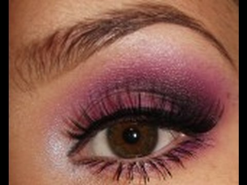 Purple Eye Shadow Tutorial