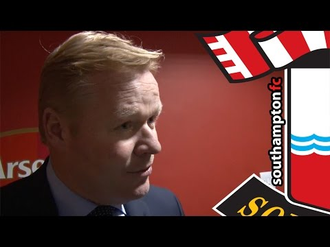 Saints were unlucky to lose at Emirates, says Koeman