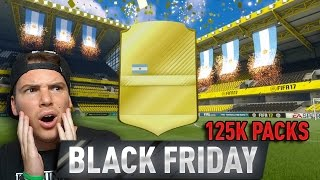 NON CI CREDO!! 6 TOP PLAYER + 3IF - BLACK FRIDAY 125K PACK OPENING EPICO!! -  FIFA 17 Ultimate Team