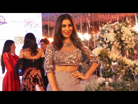 Sophie Choudry at Manish Malhotra Fashion Show 2018