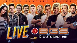A PRIMEIRA LIVE DO FINAL LEVEL - 1 MILHÃO DE INSCRITOS #YouTubeBGS