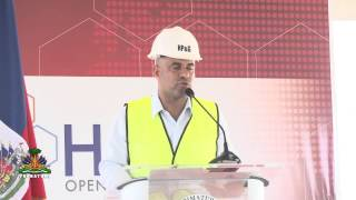 VIDEO: Haiti - Lancement Construction yon Ternimal Gas Naturel