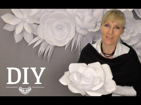 download diy romantische rosen aus kaffeefiltern deko. Black Bedroom Furniture Sets. Home Design Ideas