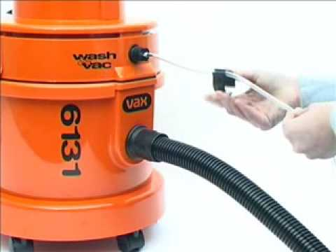 Convert Vax 6131 Dry Vacuum Cleaner To Wet Washer Youtube