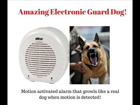 The Electronic Barking  Dog Wireless Alarm!