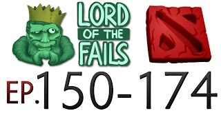 Dota 2 Fails of the Week - Best of Ep. 150-174 (Lord of the fails)