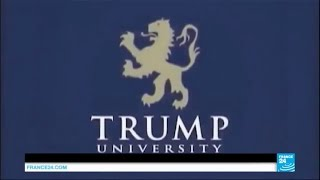 Trump university scandal: Republican candidate faces string of lawsuits