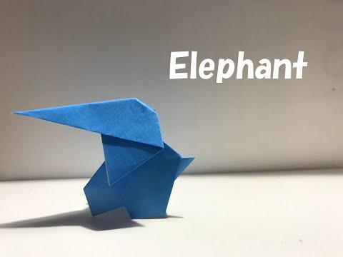 【折り紙・origami】象 elephant