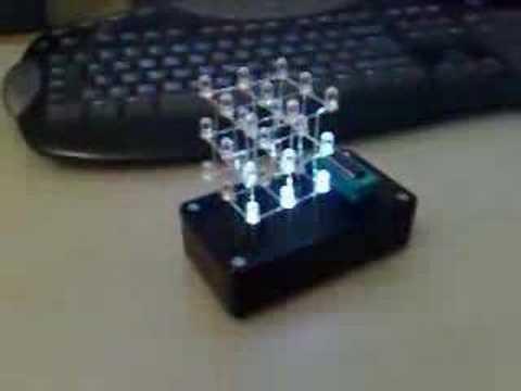 3x3x3 LED cube