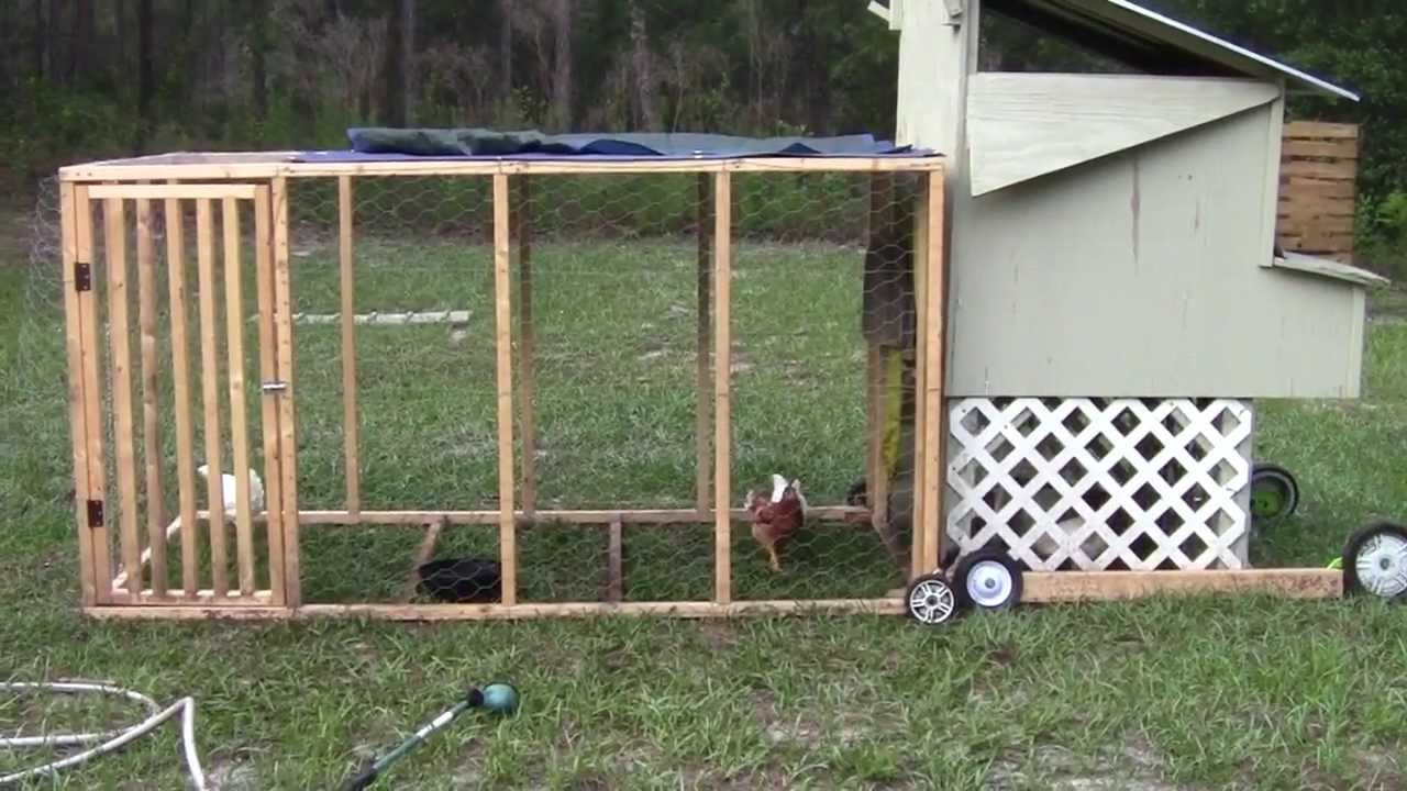 Homemade Chicken Run And Salvaged Coop Update Chicken