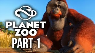 PLANET ZOO Gameplay Walkthrough Part 1 - ZOOKEEPER (Full Game)