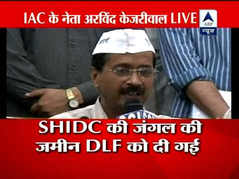Vadra owned 50 per cent of DLF Co that was allotted land: Kejriwal
