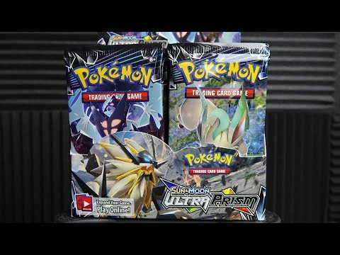Ultra Prism Booster Box! Pokemon TCG unboxing