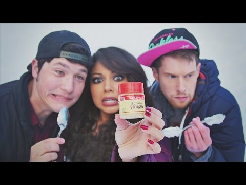 Cinnamon Challenge! (with Ginger?)