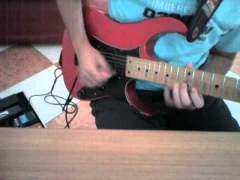 Steven Wilson - The Pin Drop Guitar Solo (Guthrie Govan) cover by Giuseppe Matera