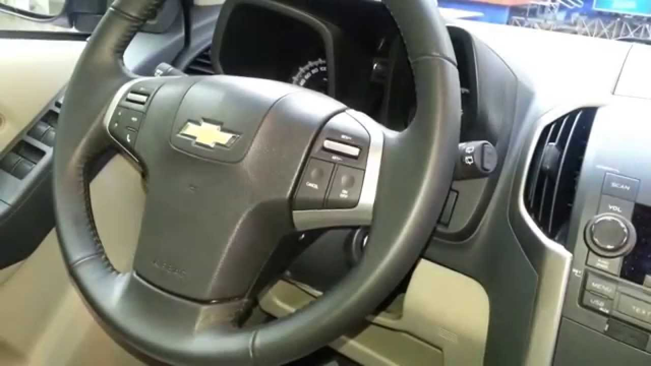 Chevrolet Trailblazer Interior Interior Nueva Chevrolet