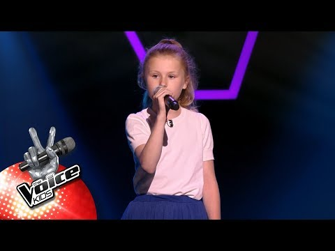 Josephine - 'Strong' | Blind Auditions | The Voice Kids | VTM