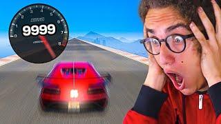 MODDING GTA 5 TO BREAK MAX SPEED! (GTA 5 Mods)