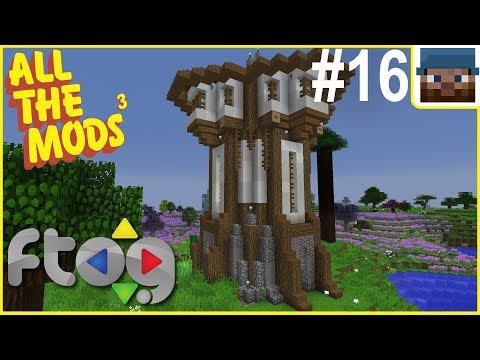 FTOG ATM3 #16 - Moving to the Space Station! - modded Minecraft Let's Play [stream]