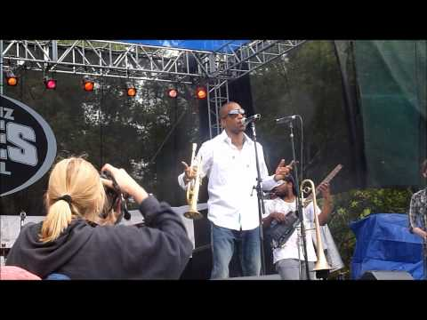 Trombone Shorty and Orleans Ave Smokin' at Santa Cruz Blues Festival 2011