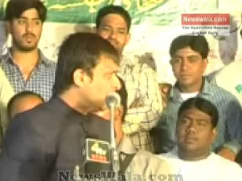 Akbaruddin Owaisis speech at a Jalsa in Rain Bazar