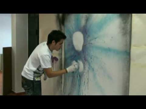 ELABORAÇÃO DE GRAFITIS - Video realizado por José Luís Vinagre em Rio Maior