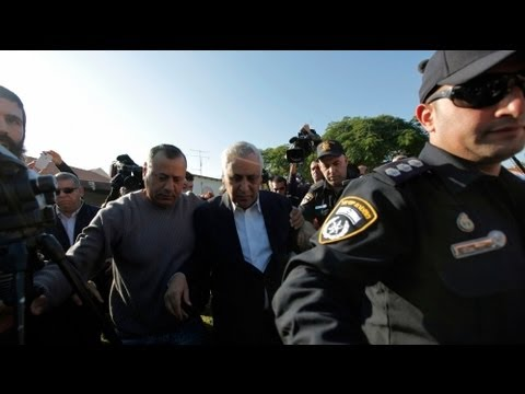 Israeli ex-president jailed