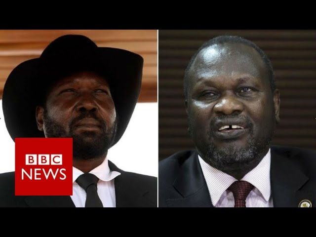 How South Sudan's Kiir and Machar 'profited during war' - BBC News