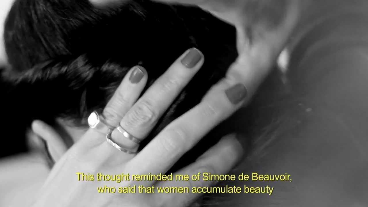 Simone de Beauvoir on beauty - YouTube