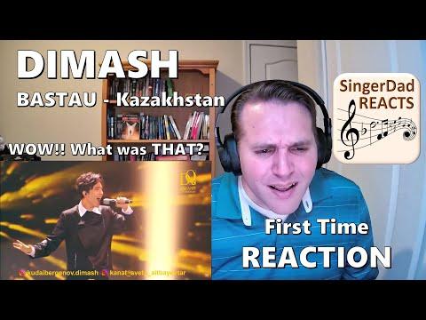 Classical Singer First Time Reaction- Dimash | Bastau - Kazakhstan. Charismatic & Impressive!!