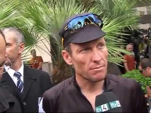 Tour de France 2009 Prologue Lance Armstrong Interview