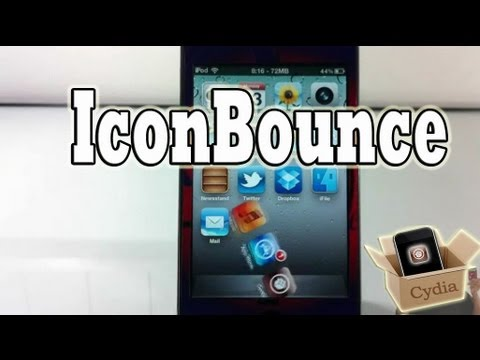 IconBounce (Cydia Tweak) - Flipping & Spinning Dock Icons On For iPhone iPod Touch And iPad