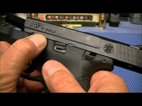 Smith and Wesson M&P Shield in 40 S&W Initial Look