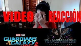 GDLG V2 Trailer 2 y Transformers 5 Video Reaccion - BUMBLEBEE! - Alejo 2000