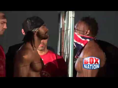 Haye v Chisora - The weigh in on BoxNation