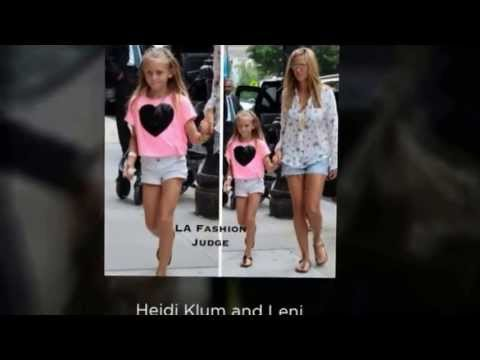 Celeb Moms and Kids Summer Fashion Style 2013