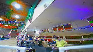Vantac BabyHawk test letu v hale