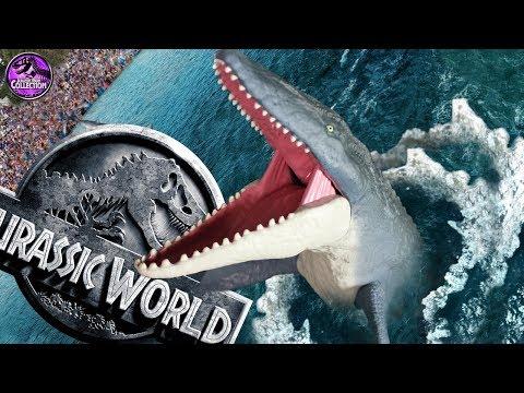 MOSASAURUS   Jurassic World: Fallen Kingdom   Mattel Toys Review