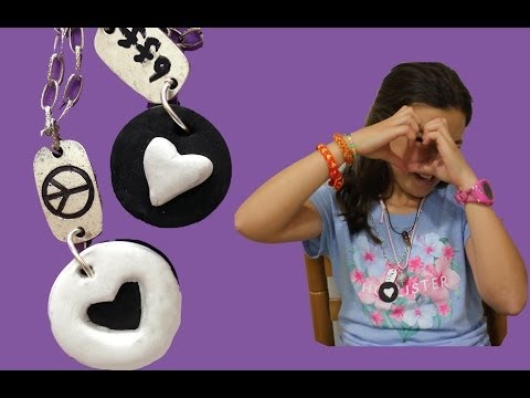 Collar mejores amigas Oreo. Oreo best friends forever necklace