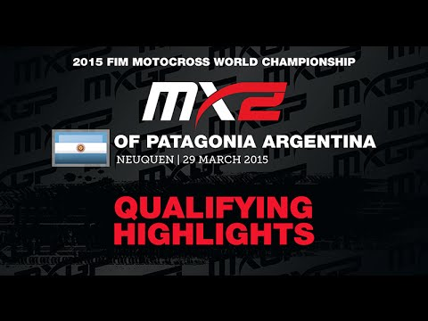 Mxgp Of Patagonia Argentina Mx2 Qualifying Race Highlights 2015 - Motocross video