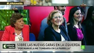 """Cristina Almeida sobre su compañera de facultad: """"Por Manuela Carmena me tumbaría en la parrilla"""""""