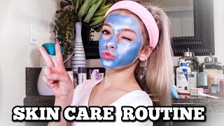 DIY Facial At Home! | NIGHTTIME SKINCARE ROUTINE | Coco Quinn