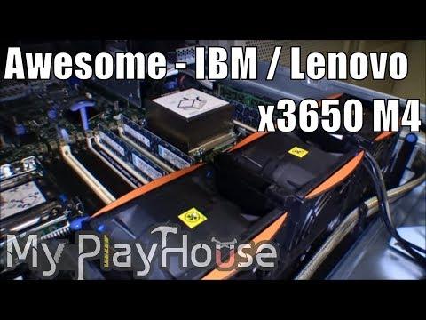 IBM x3650 M4 upgrade CPU, RAM and SSD - 079